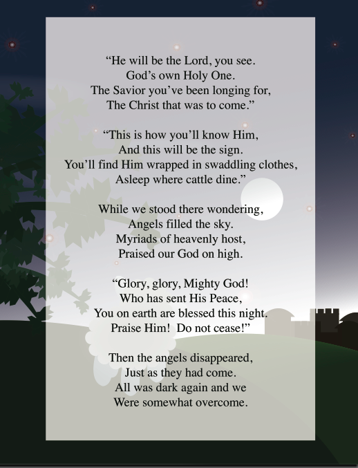 Simply Stamping ...: The Shepherd's Song