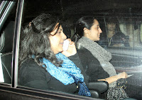 Amir, Abhishek, Sachin and Others at Dhoom 3 Movie Special screening