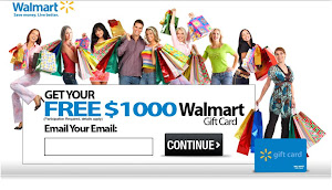Get Your $1000 Walmart Gift Card Here!
