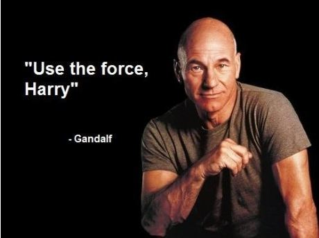 Use The Force Harry - Gandalf
