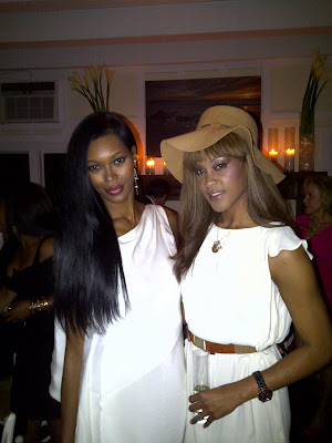 Jessica White and Shontelle