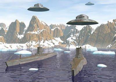 Platillos Volantes y Bases Bajo la Antártida. Los Nazis y sus Secretos
