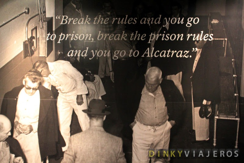 Break the rules and you go to prison. Break the prison rules and you go to Alcatraz