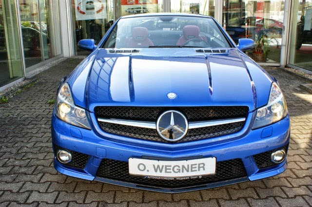r230 sl 63 amg designo blue