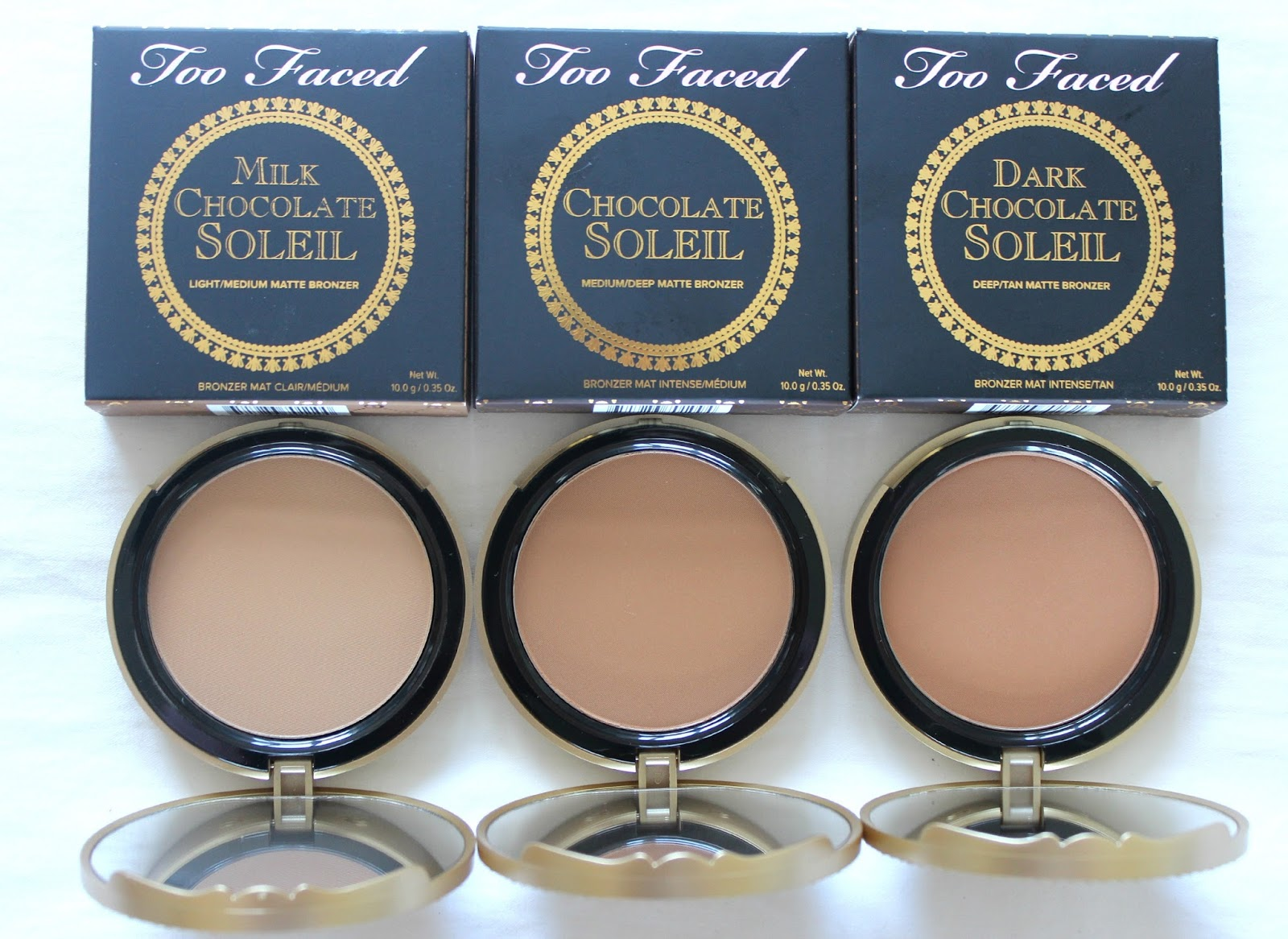 Ellie's Ramblings: Too Faced Bronzers