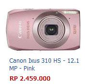 Harga Kamera Canon Ixus 310 HS