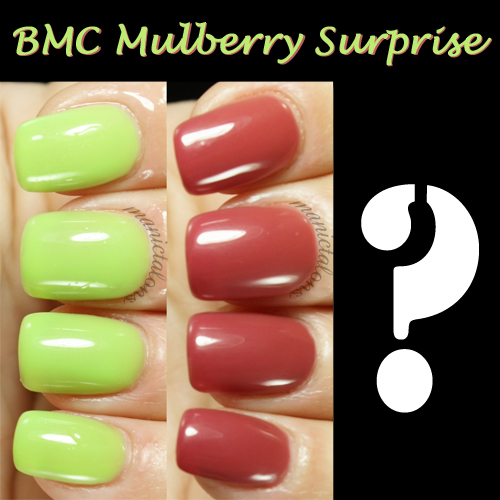 Bundle Monster Gel Polish Mulberry Surprise Review