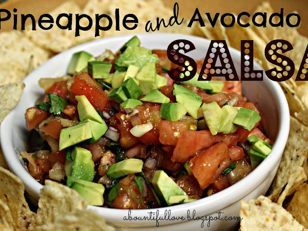 Pineapple and Avocado Salsa