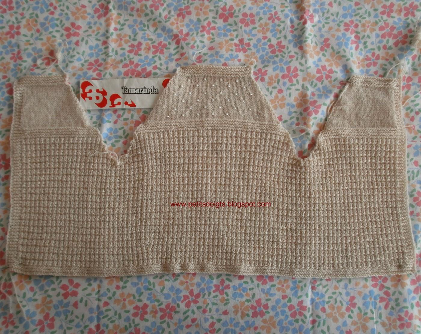 comment tricoter separement