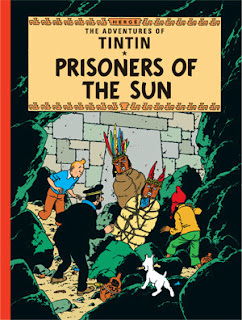 Tintin Comics Collection Free PDF, Prisoners Of The Sun Free PDF
