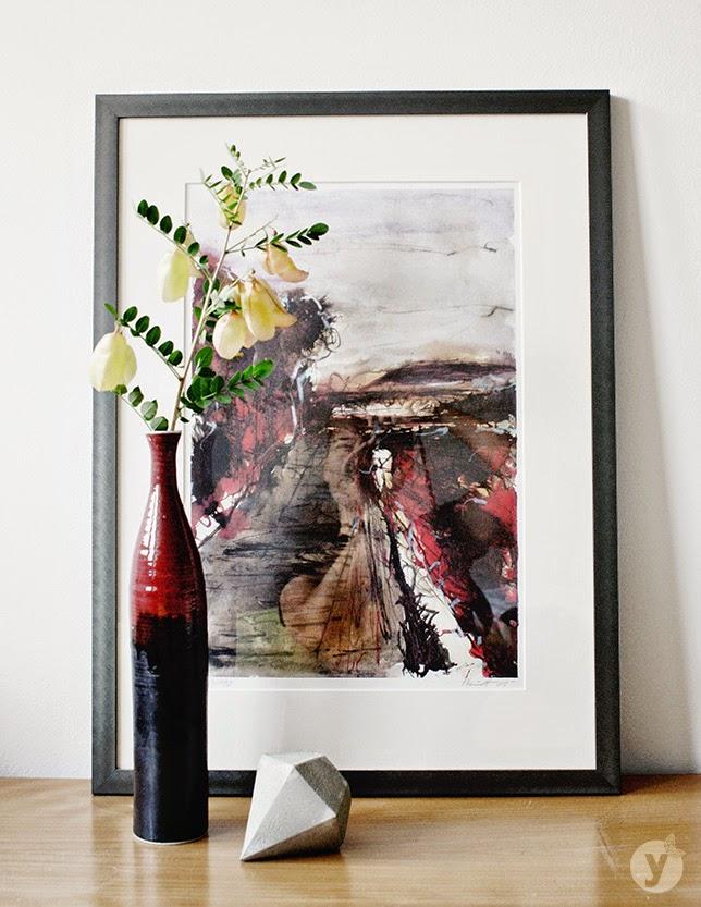 Ynas Design Blog, Blumendekoration