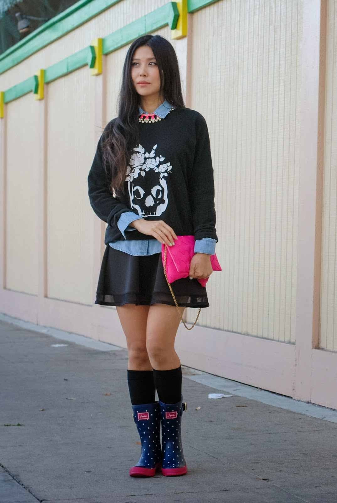 GBF How I Wear Rain Boots in LA} Drizzle | Good, Bad, and Fab | LA ...