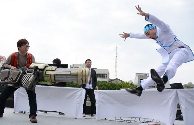 Machi Asobi, CyberConnect2, Hiroshi Matsuyama, Namco Bandai, Jojo's Bizarre Adventure : All-Star Battle, Weekly Shonen Jump, Ultra Jump, Rohan