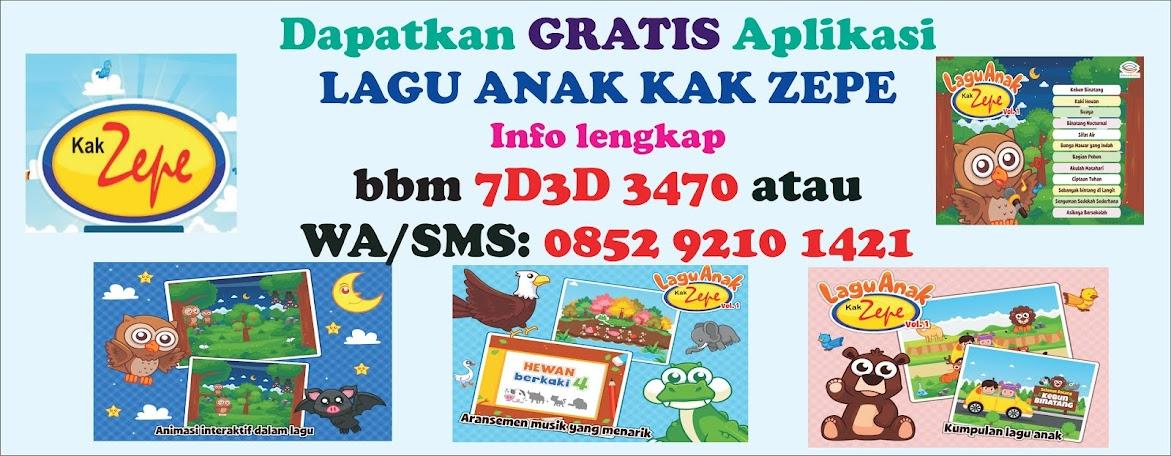 Download Lagu Anak Bahasa Indonesia & Inggris,dongeng,cerita,TK,SD,MP3, Youtube)Tematis Kak Zepe