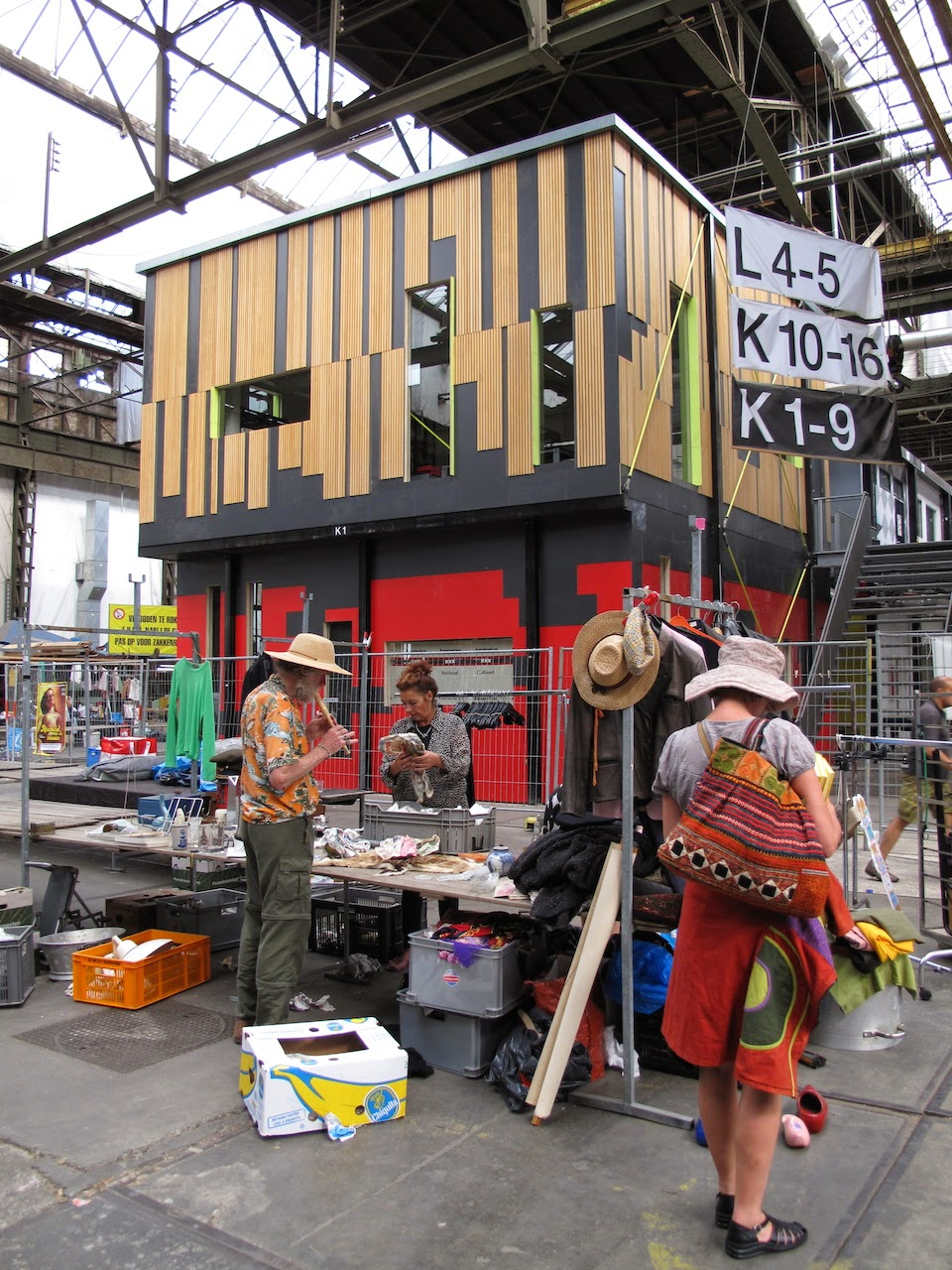 Ij Second hand market, Amsterdam