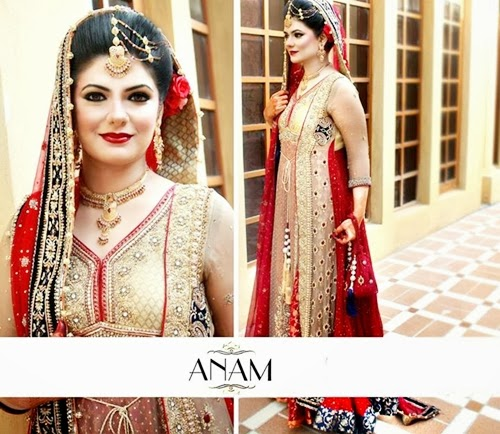 PakistaniBridalMakeupPictures2014 0019 wwwshe stylesblogspotcom - Bridal Makeup Pictures 2014 by Anam.