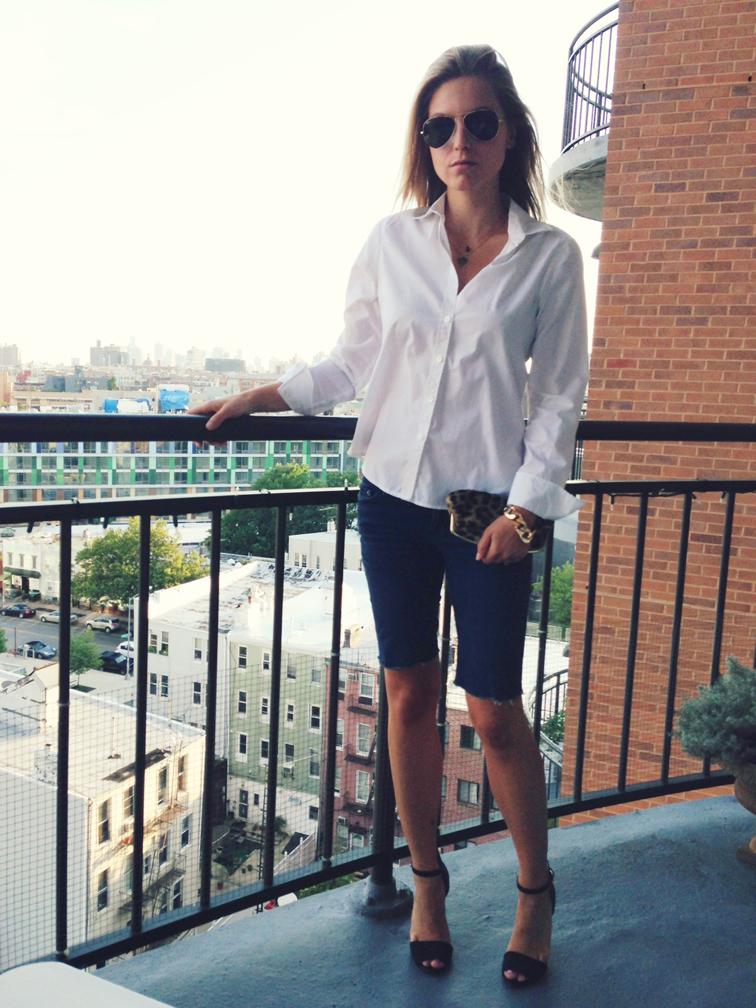 Crisp White Shirt Minimalism