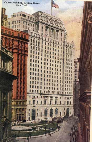 Cunard Building Nyc Tour