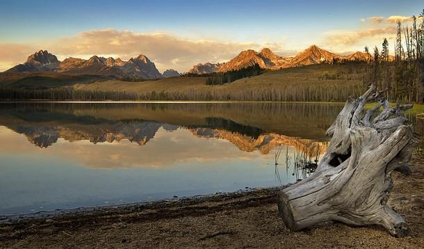 Idaho Little Redfish Lake, Sawtooth National Recreation Area