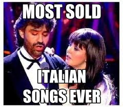 Most sold Italian songs: Time to say goodbye Lyrics video