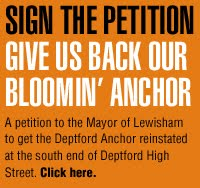Deptford Anchor petition