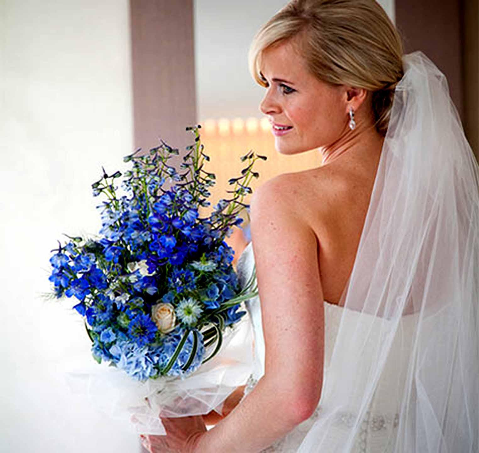 Sky Blue Wedding Decorations