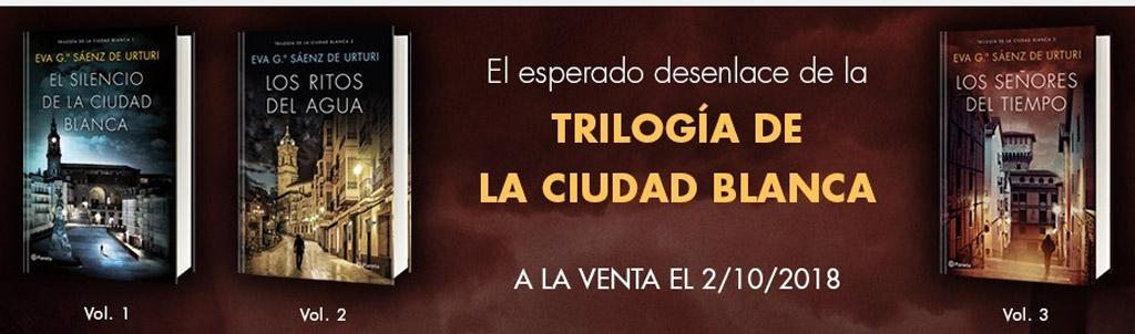 Estuche trilogía La Ciudad Blanca
