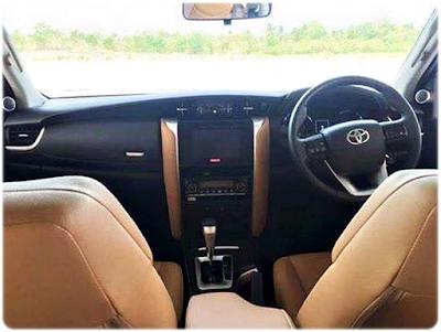 Interior All New Toyota Fortuner Terbaru 2016