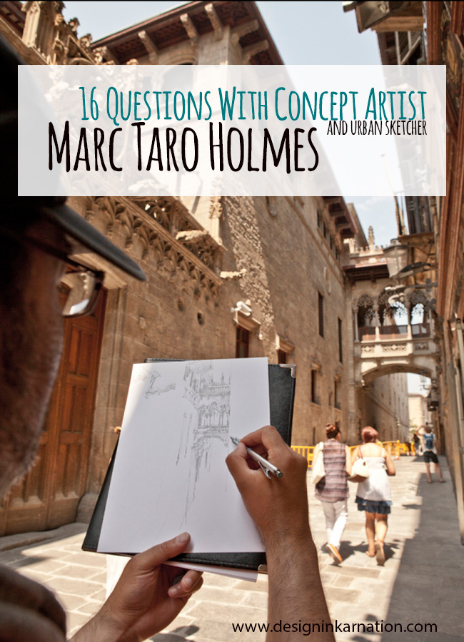 16 Questions with Marc Taro Holmes