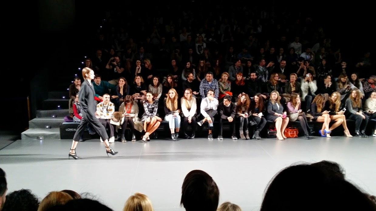 MBFW, Desfiles, Street Style, Pasarela, Looks, Party, Kissing, David Delfin, Blog de Moda, Anna Lokking