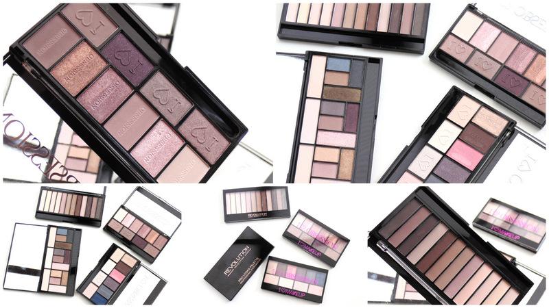 My Favourite Makeup Revolution Palettes