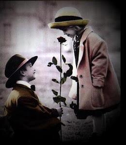 Ele trazia Flores...