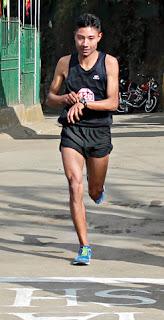 Ajay Chhetri wins darjeeling marathon