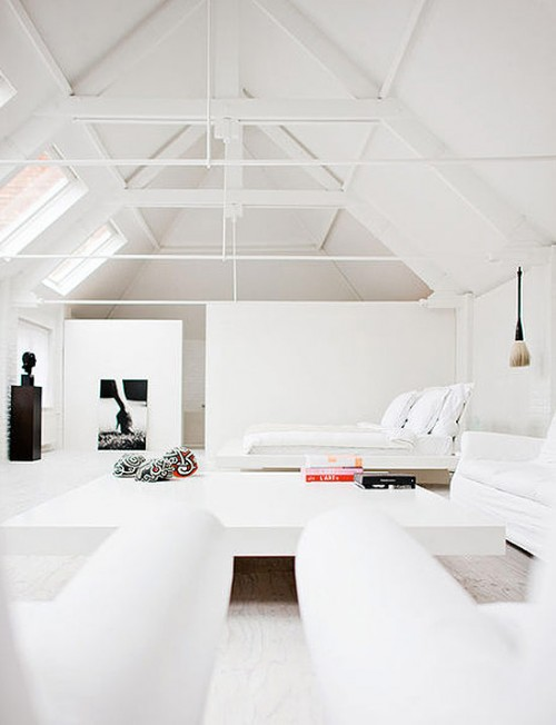 M chant studio blog a zen white house - Hoog plafond ...