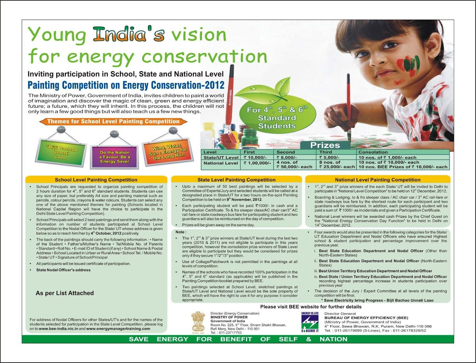 painting competition on energy conservation scholastic world painting competition on energy conservation 2012