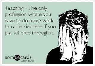 when teachers are sick