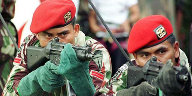 Ini yang Buat Kopassus Disegani Militer Sedunia
