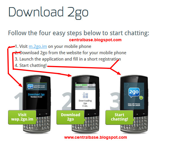 how to download 2go for a mobile phone