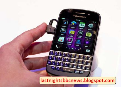 BlackBerry Q10 : The Keyboard Returns