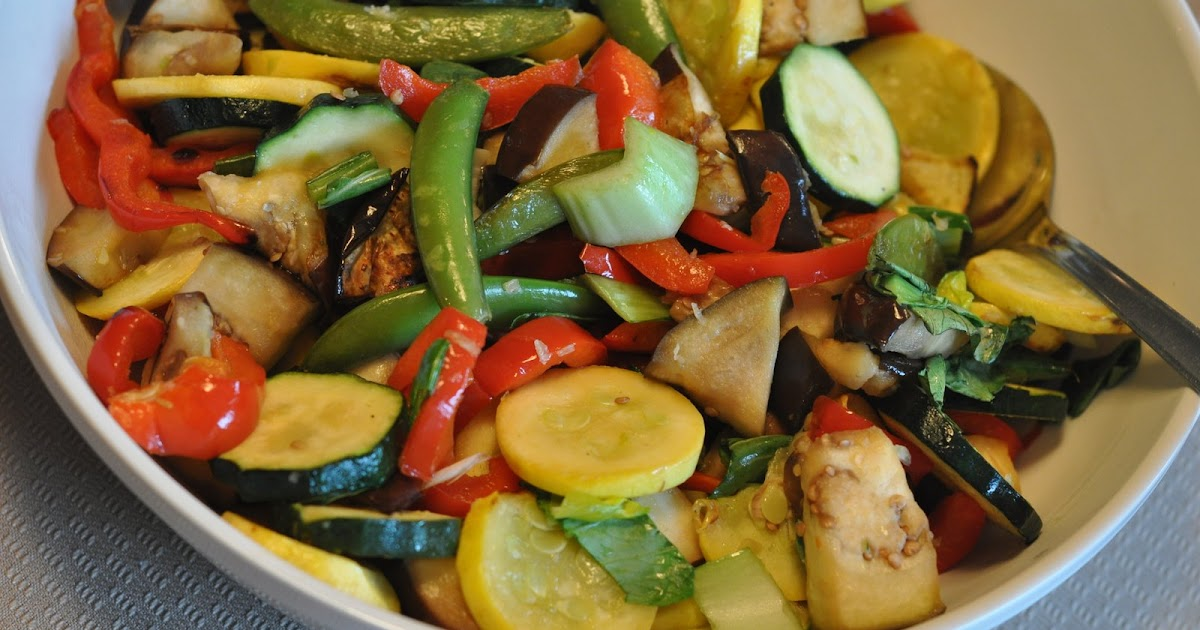 Mennonite Girls Can Cook: Vegetable Stir Fry on the Grill
