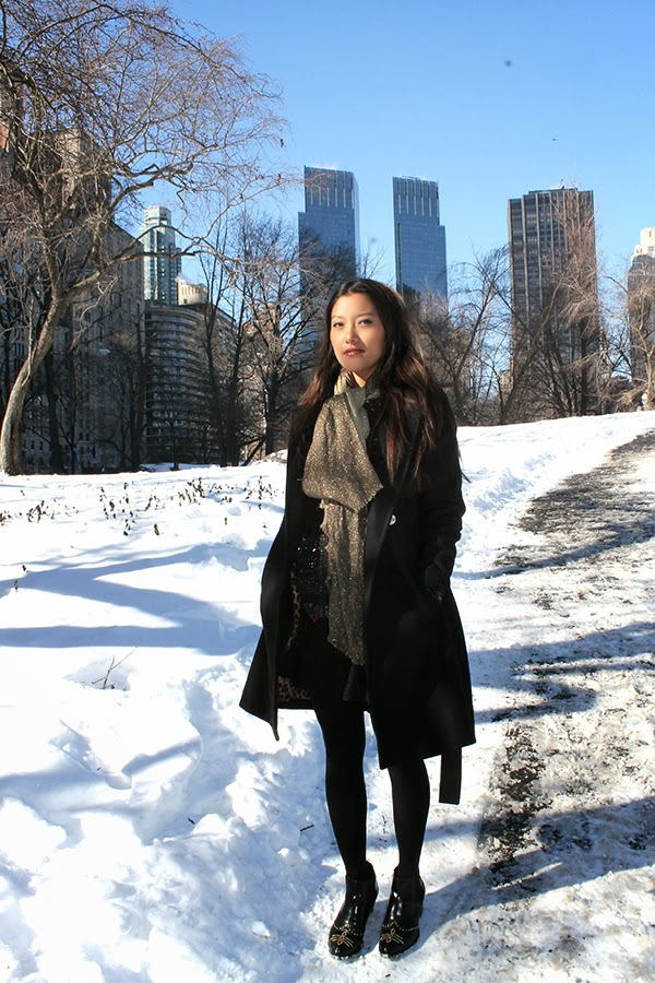 style by lynsee, fashion blogger, miami fashion blogger, new york fashion blogger, outfit of the day, elan use, elan sweater, h&M shirt, hm shirt, express, what to wear in the winter, winter trends, fashion trends, 2014, central park new york, new york city, what to wear in new york,