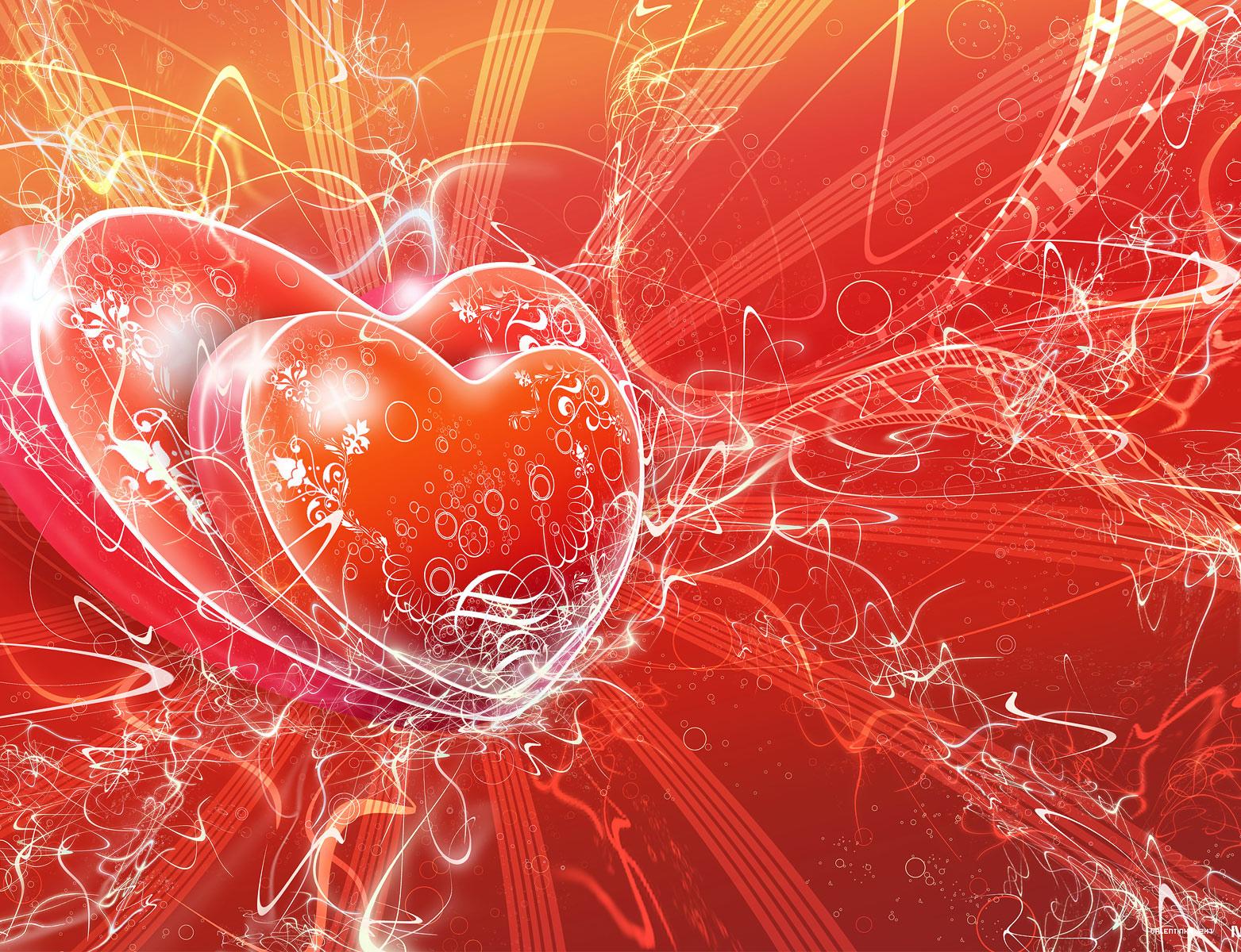wallpaper desk beautiful heart wallpaper beautiful