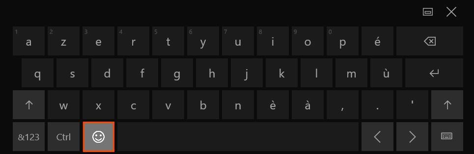 touche carré clavier