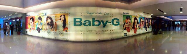 """SNSD Casio """"Baby G"""""""