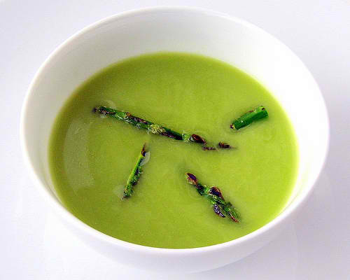 Cooking Recipes: CREAM OF ASPARAGUS SOUP