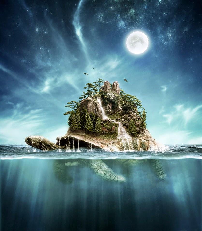 Native American Turtle Island Man, Myth and Magic: C...
