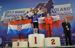 Dominika Gleisner, kickboxing, treningi, sporty walki, Zielona Góra