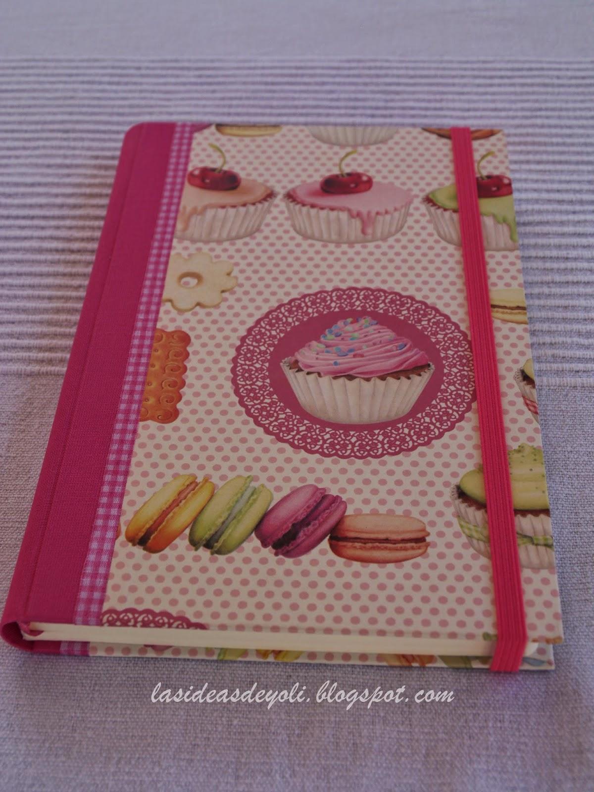 Cuadernos De Cocina | Cuaderno De Cocina Encuadernacion Bilbao