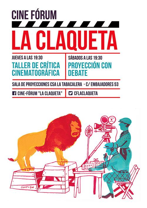 """Cine fórum """"La Claqueta"""""""