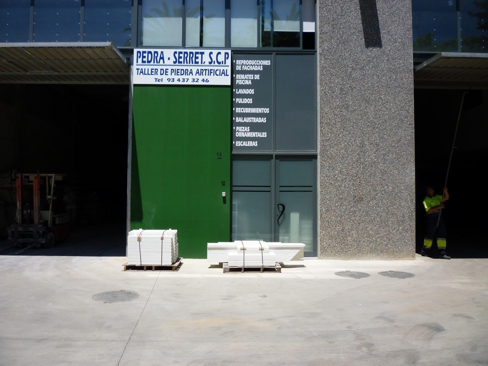Pedra serret scp taller de piedra artificial - Piedra artificial barcelona ...
